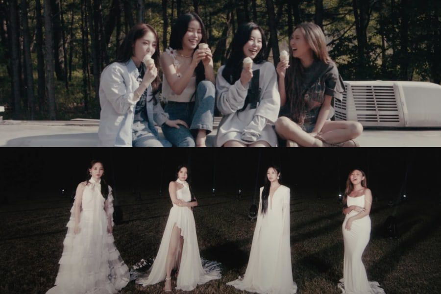 """Watch: MAMAMOO Asks """"Where Are We Now"""" In Elegant And Stirring New MV 