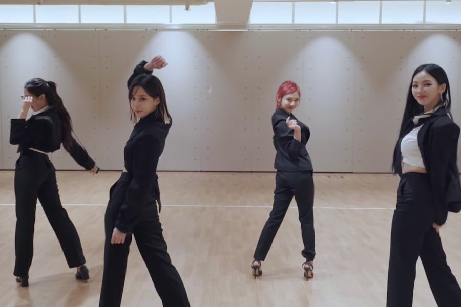 """Watch: aespa Shares Special Dance Practice Video For """"Next Level"""" To Celebrate 100 Million Views"""