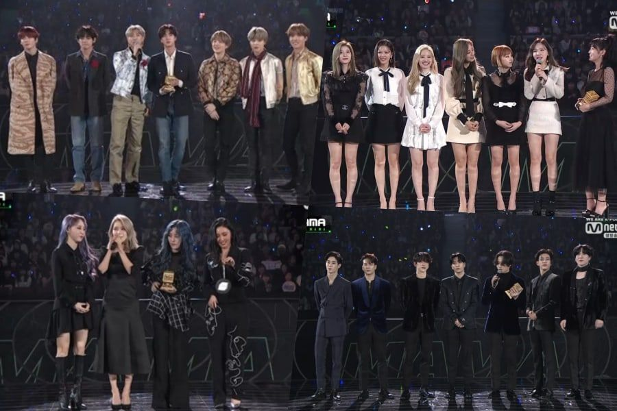 Winners Of 2019 Mnet Asian Music Awards