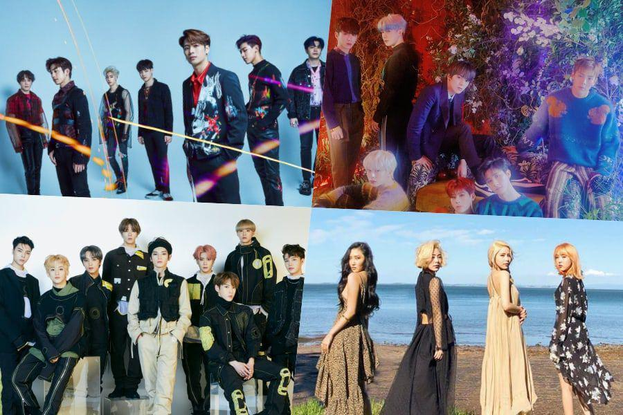 GOT7, MONSTA X, NCT 127, MAMAMOO, MOMOLAND, And More Officially Certified Platinum By Gaon