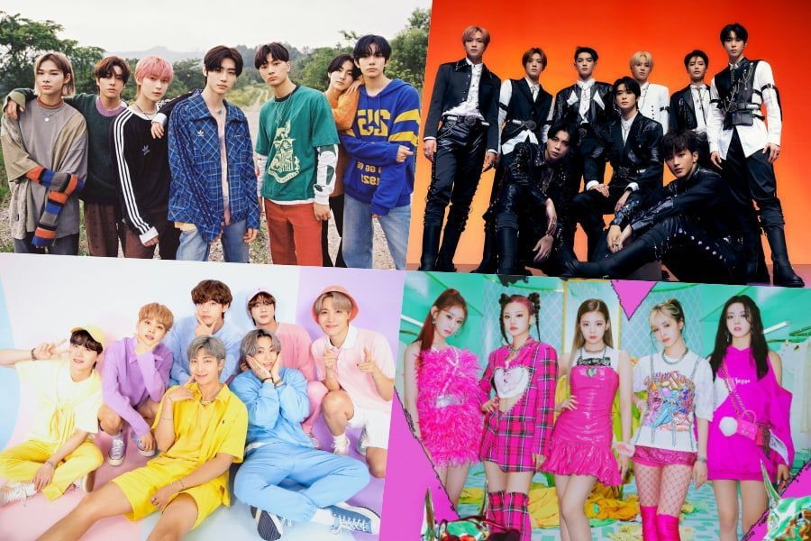 ENHYPEN, NCT 127, BTS, ITZY, TXT, dan BLACKPINK Raih Posisi Teratas Di Chart Album Dunia Billboard