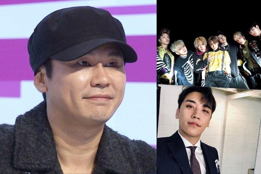 Seungri de BIGBANG y iKON preparan un evento sorpresa para el cumpleaños de Yang Hyun Suk
