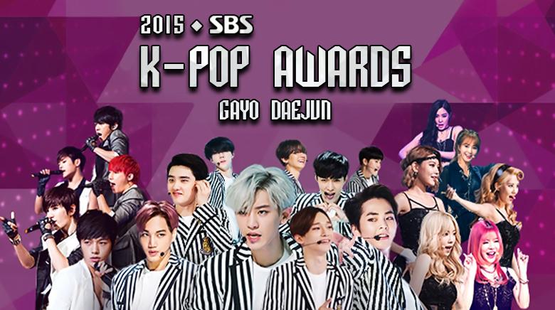 2015 SBS K-Pop Awards