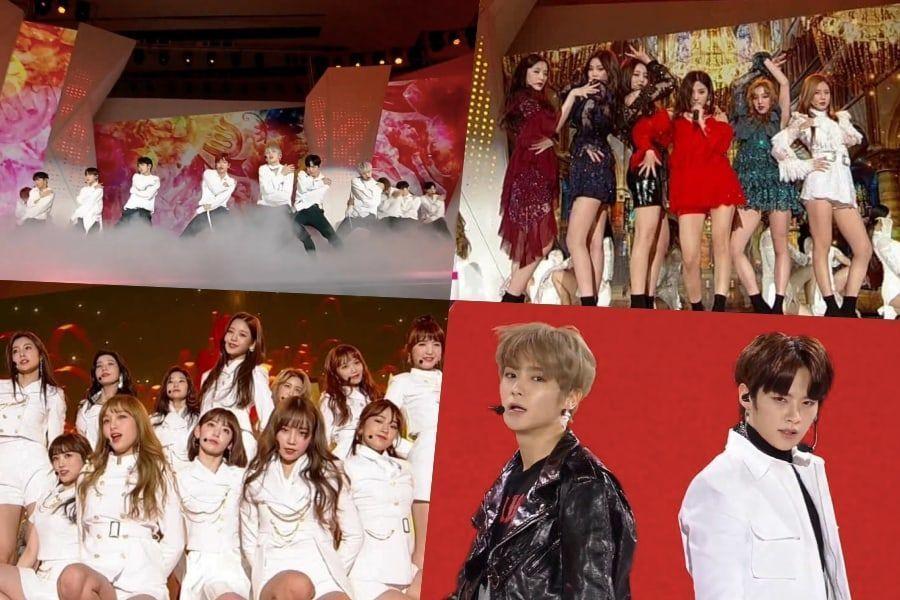 Presentaciones de los 2018 MAMA en Corea