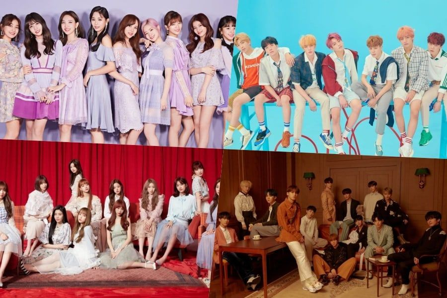 Idols Vote On Who They Think Is Most Beautiful, Who They'd Like To Collaborate With, And Who Will Hit It Big In 2019