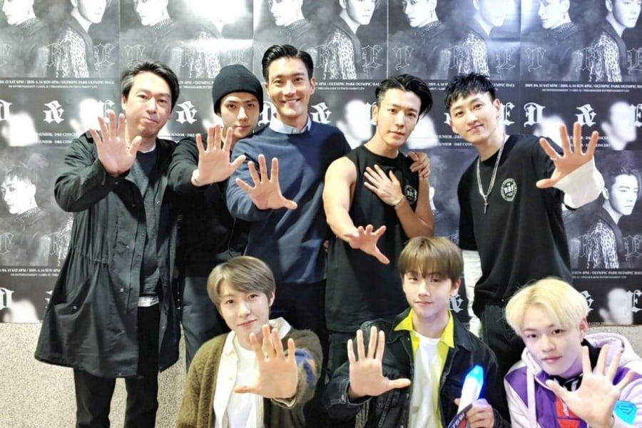 Members Of EXO, Super Junior, And NCT Show Love For Super
