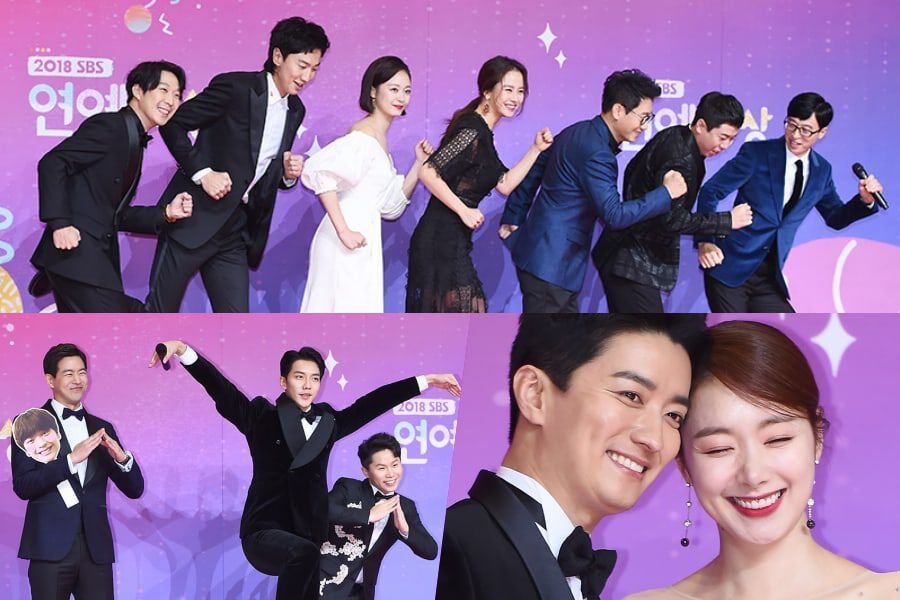 Stars Bring The Fun To Red Carpet At 2018 SBS Entertainment Awards