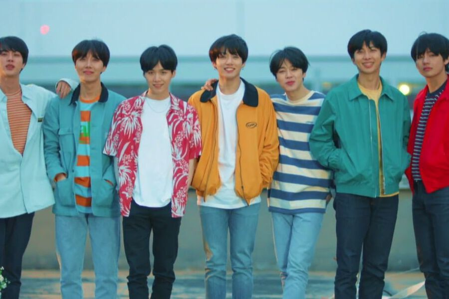 Watch Bts Stuns With Breathtaking Euphoria Video For Love Yourself Series