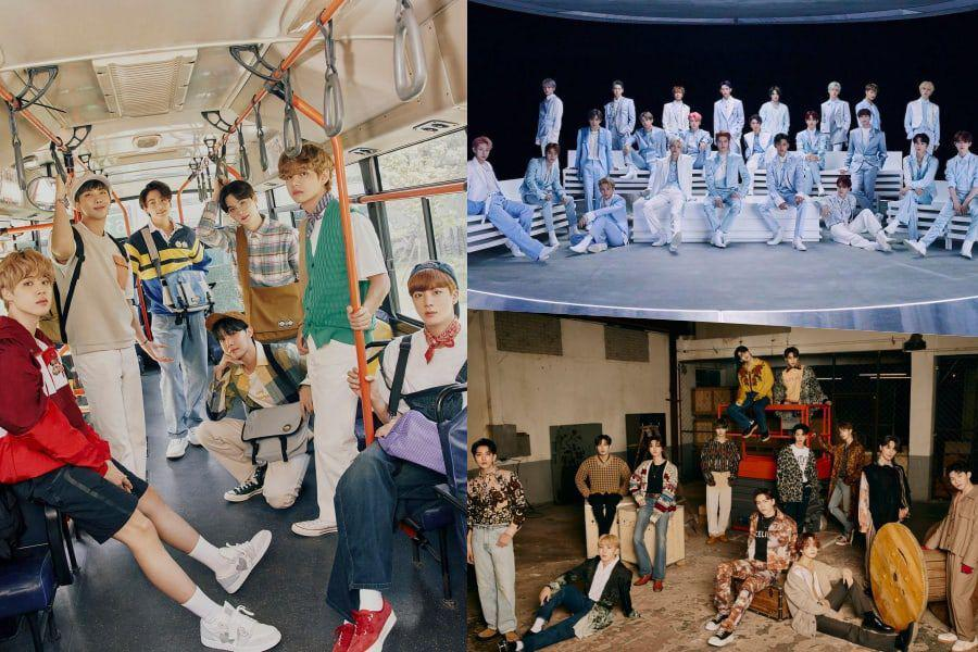 February Boy Group Brand Reputation Rankings Announced