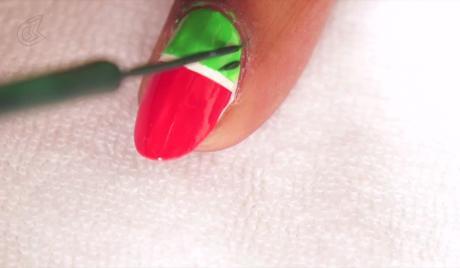 Blush Episode 27 Easy Watermelon Nail Art Tutorial Blush Watch