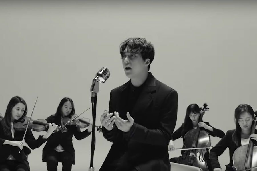 """Watch: Highlight's Son Dongwoon Touches Hearts In MV For Solo Track """"In The Silence"""""""