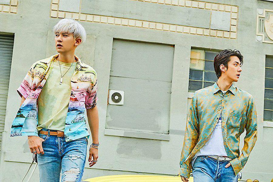 "Sehun And Chanyeol Feature In 1st Teaser For EXO-SC's Debut Album ""What A Life"""