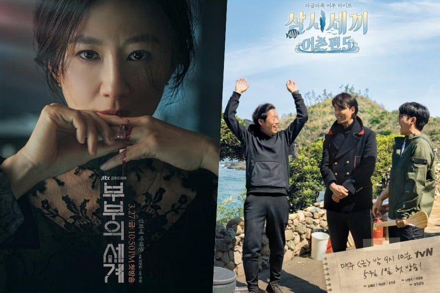 """The World Of The Married"" continúa dominando con calificaciones de más del 20 por ciento, ""Three Meals A Day"" regresa triunfante"
