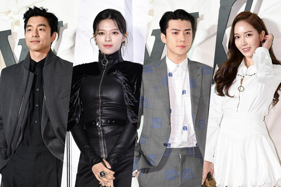 Stars Show Off Fashionable Looks At Louis Vuitton Events Soompi