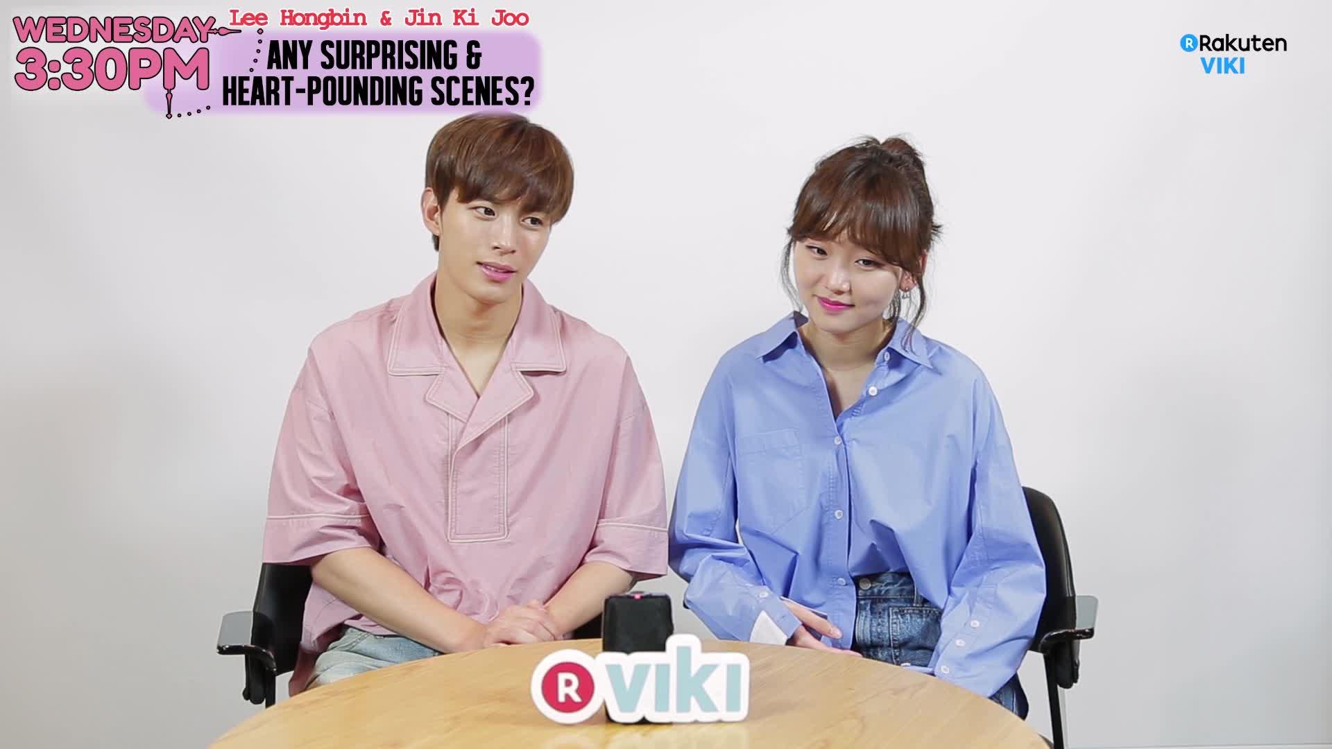 Exclusive Interview: Hongbin and Ki Joo's Aegyo Battle: Wednesday 3:30 PM