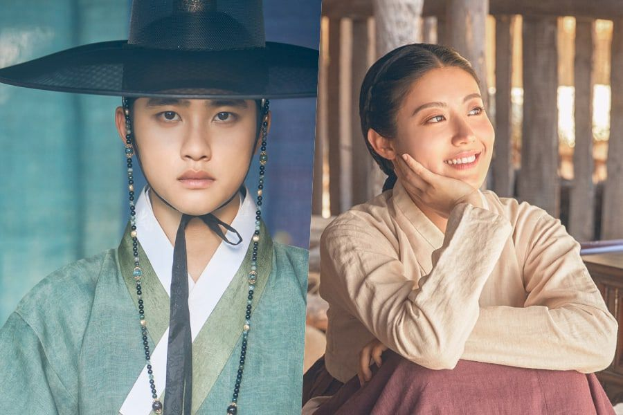 """""""100 Days My Prince"""" Unveils Additional Character Posters For EXO's D.O. And Nam Ji Hyun"""