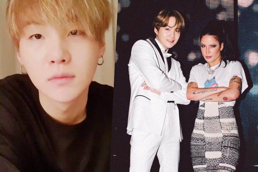 "BTS' Suga Tells Story Behind His Collaboration With Halsey, ""SUGA's Interlude"""