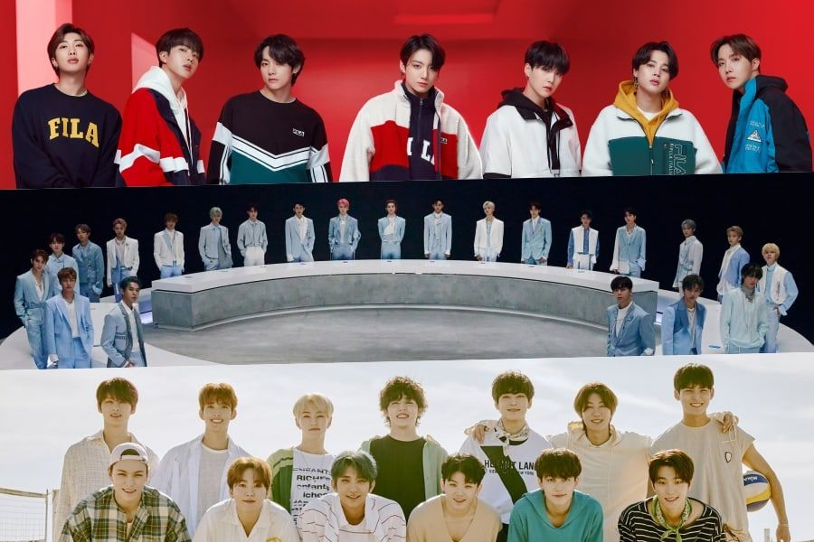 October Boy Group Brand Reputation Rankings Announced