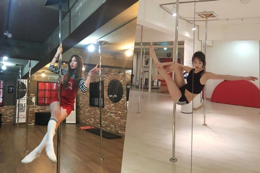 11 K-Pop Idols Who Have Taken On The Challenge Of Trying Pole Dancing