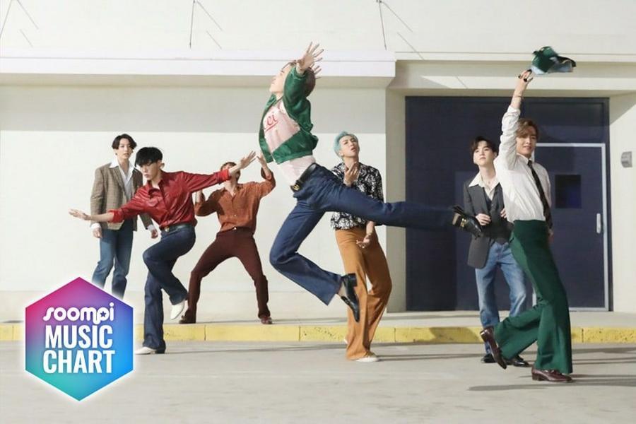 "BTS Keeps Lead With ""Dynamite""; Soompi's K-Pop Music Chart 2020, October Week 1 thumbnail"