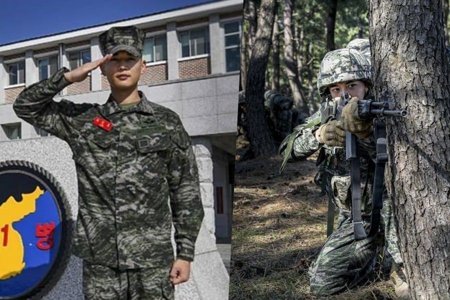 SHINee's Minho Gives Up Final Military Leave To Help Train Junior Soldiers