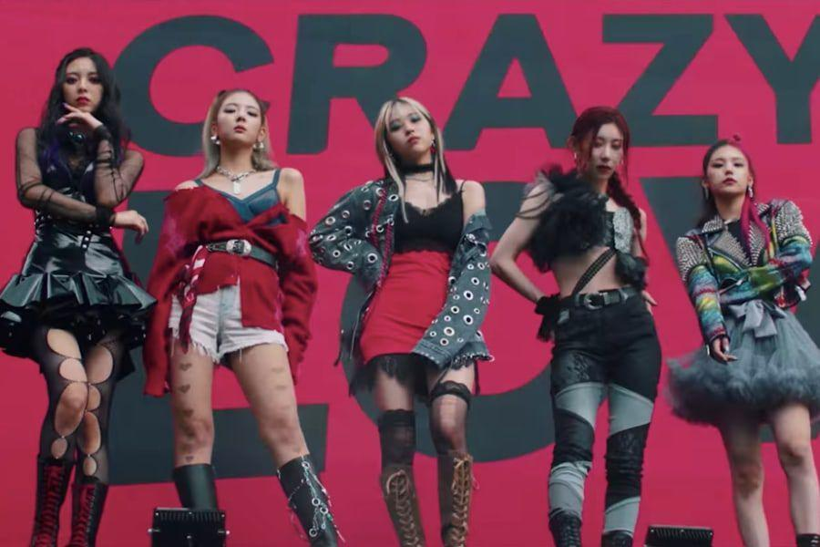 """Watch: ITZY Drops Epic Comeback Trailer For 1st Full Album """"CRAZY IN LOVE"""" - soompi"""