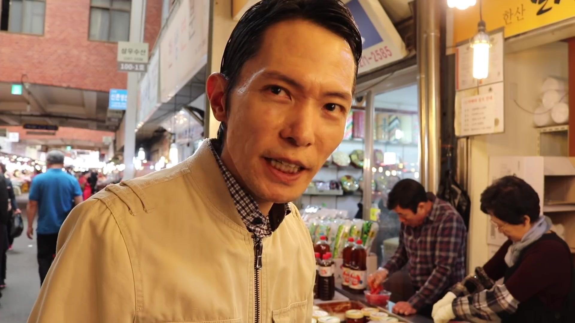 Todo Sobre Corea del Sur Episode 156: Seoul Gwangjang Market Food Tour