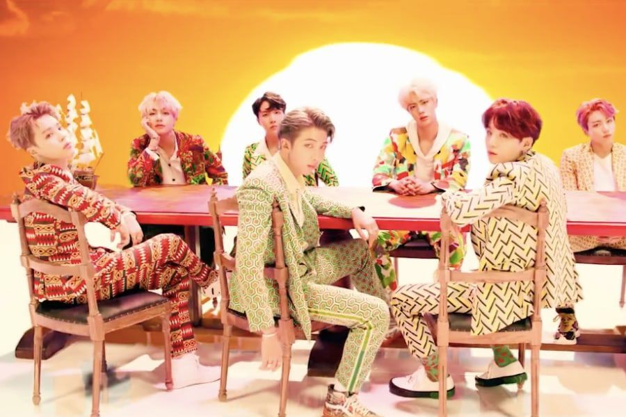 "BTS's ""IDOL"" becomes Their 5th MV To Hit 650 Million Views"