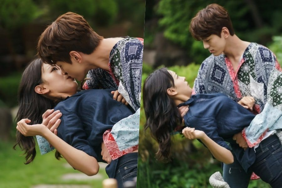 "Kim Min Kyu Surprises Go Won Hee With Dramatic Kiss On ""Perfume"""