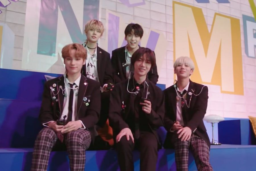 "Watch: TXT Performs On ""The Ellen DeGeneres Show"" + Shares Behind-The-Scenes Glimpse Of Filming"