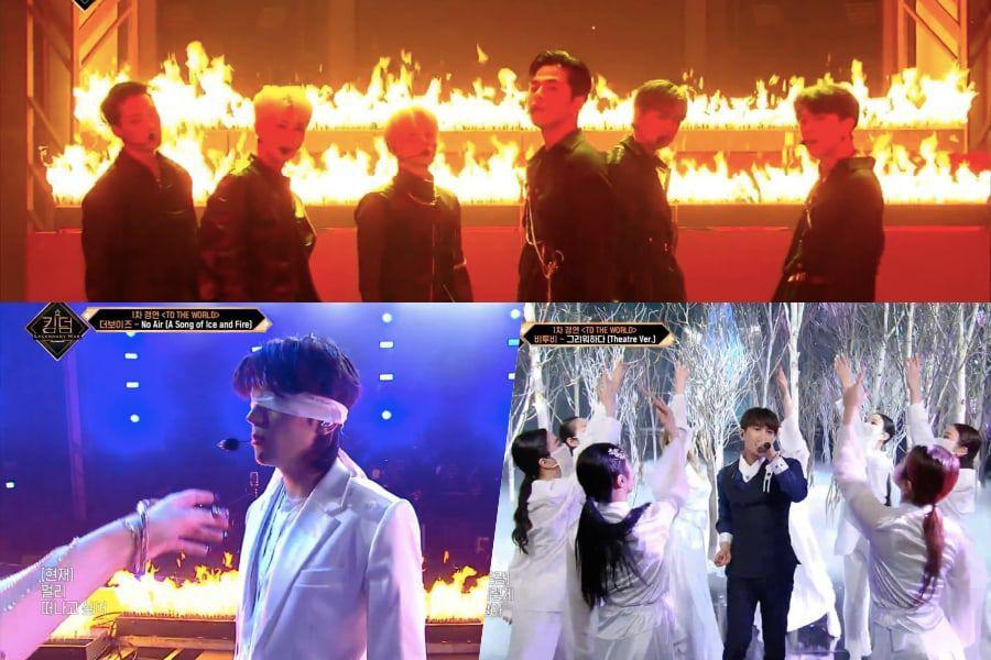 "Watch: ""Kingdom"" Reveals Full Results Of Introduction Battle + Kicks Off 1st Round With Electrifying Performances"