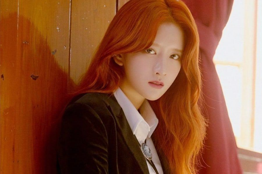 WJSN's Exy To Temporarily Halt Activities Due To Health Issues