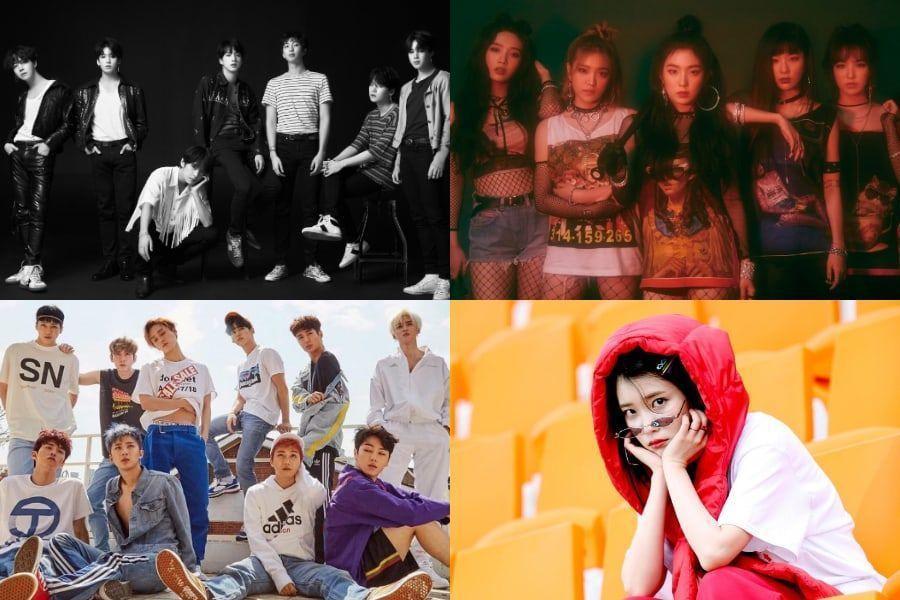 BTS, Red Velvet, PENTAGON y IU se encuentran en la lista de las 100 mejores canciones del 2018 realizada por el equipo de Billboard
