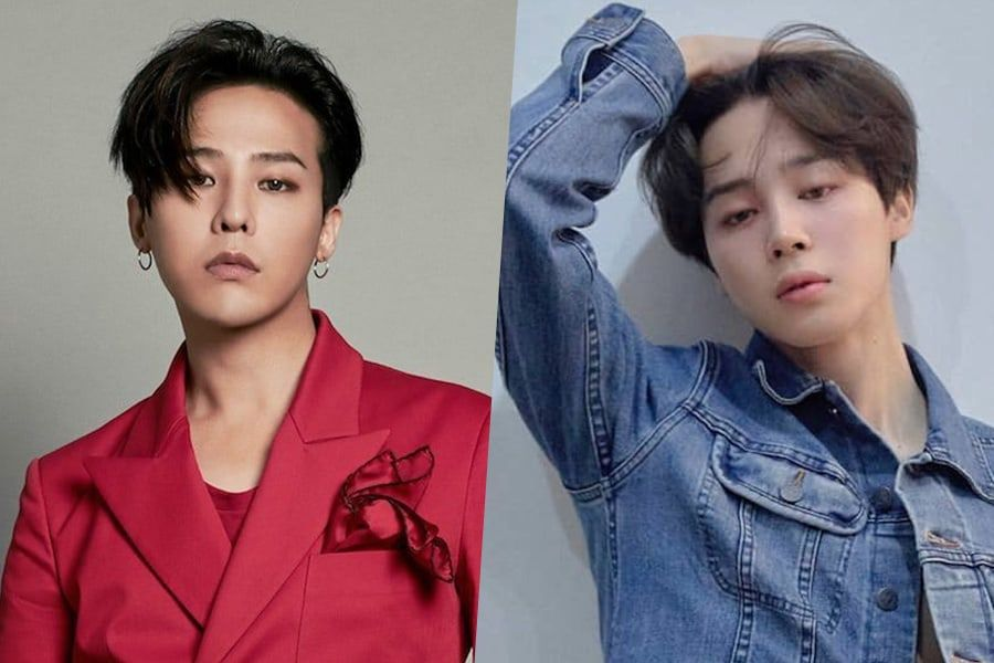 BIGBANG's G-Dragon And BTS's Jimin Make The Guardian's Best Boy Band Members List