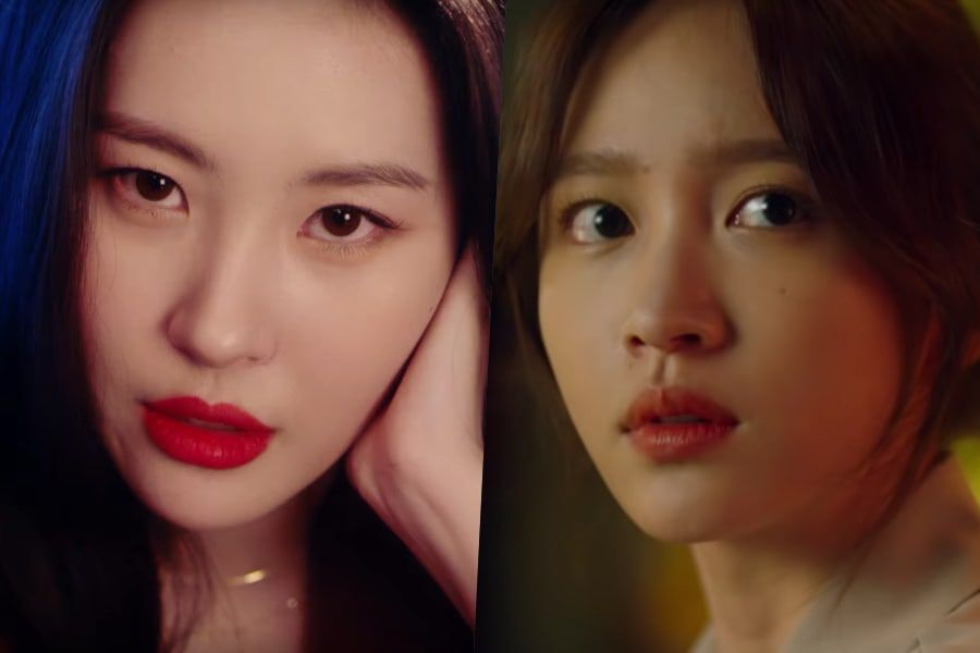 "Watch: Sunmi Releases Dramatic MV Of OST ""Gotta Go"" For Web Drama ""XX"" Starring EXID's Hani"