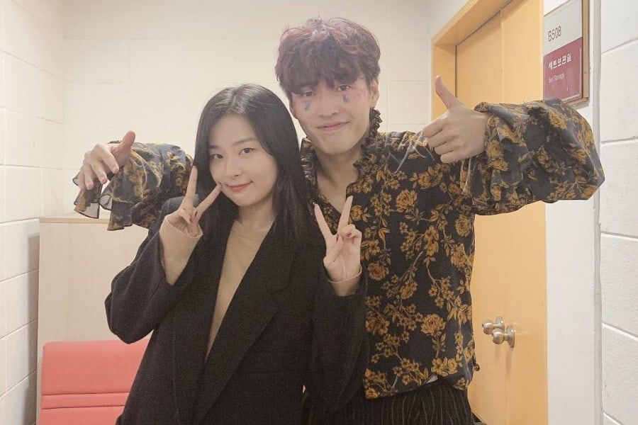 Red Velvet S Seulgi Cheers On Kang Ha Neul At His Play Soompi