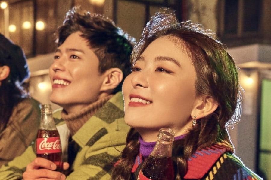 Seulgi Red Velvet dan Park Bo Gum Jadi Bintang Iklan Coca-Cola Edisi Tahun Baru 2020