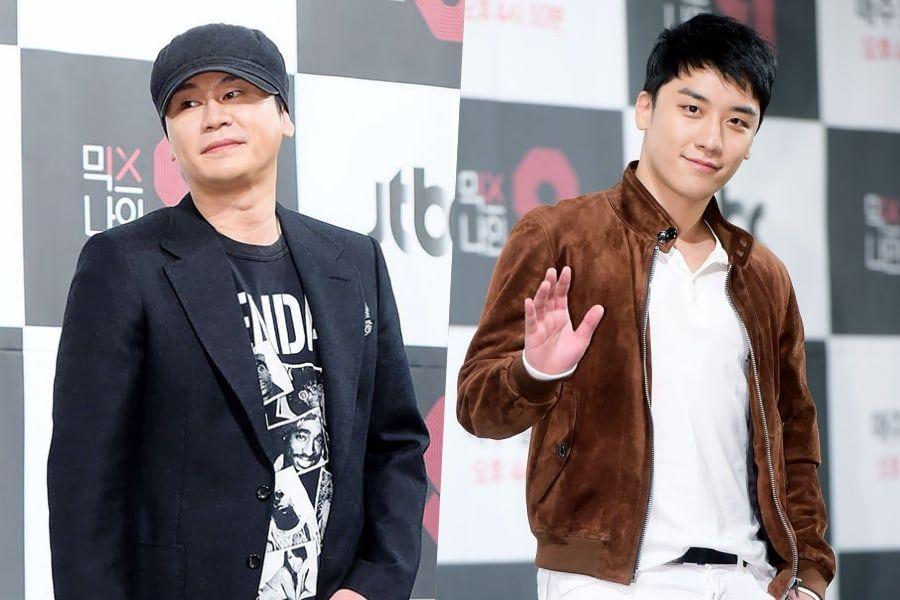 Yang Hyun Suk And Seungri Booked On Suspicions Of Gambling