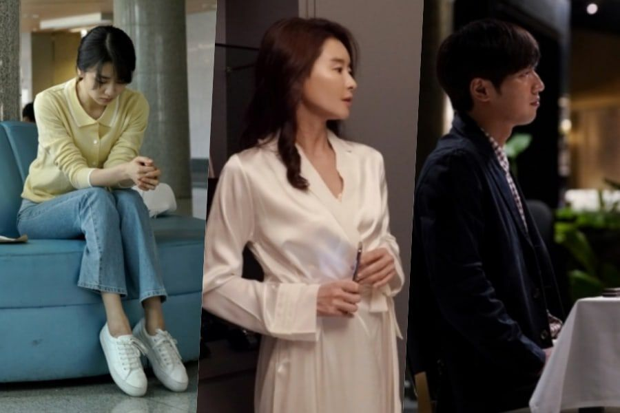 """Upcoming Drama """"Love Affair In The Afternoon"""" Previews 3 Unhappy Marriages In New Teaser"""
