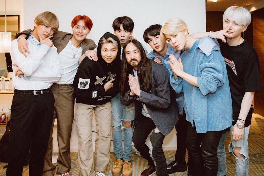 "BTS And Steve Aoki's ""Waste It On Me"" Tops Impressive Number"