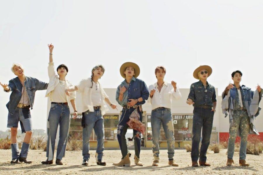 BTS merilis lagu baru 'Permission to Dance'.