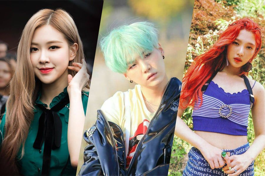 6 Hair Color Trends We Ll Be Seeing All Over K Pop In 2019 Soompi
