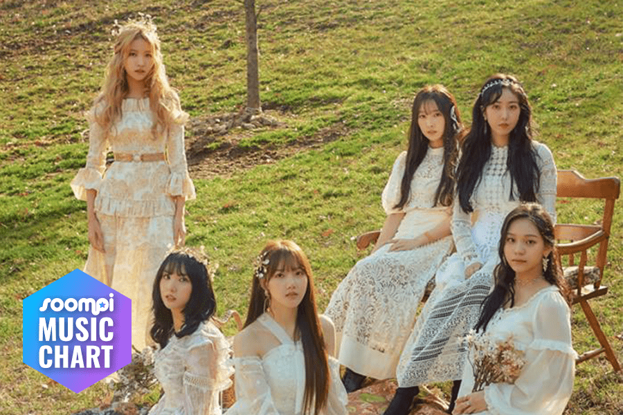 "GFRIEND Maintains No  1 With ""Sunrise"""