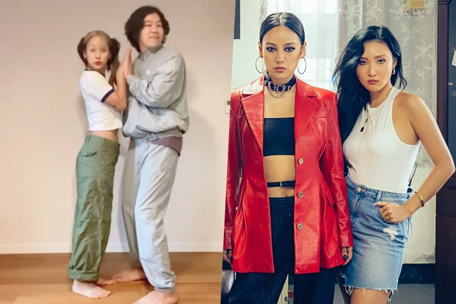 Lee Hyori and Lee Sang Soon Share Yoga Practices to
