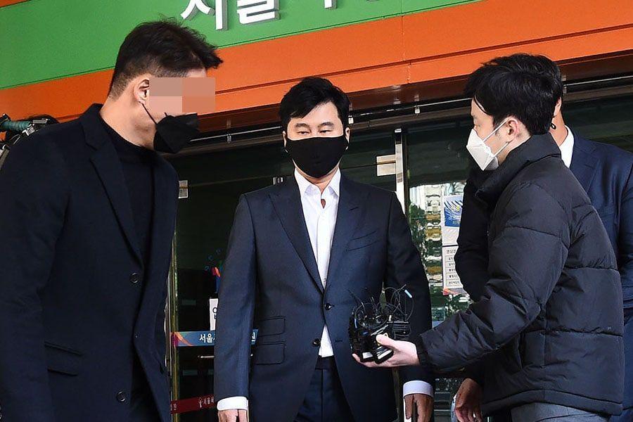 Yang Hyun Suk Sentenced Fine For Illegal Gambling Case