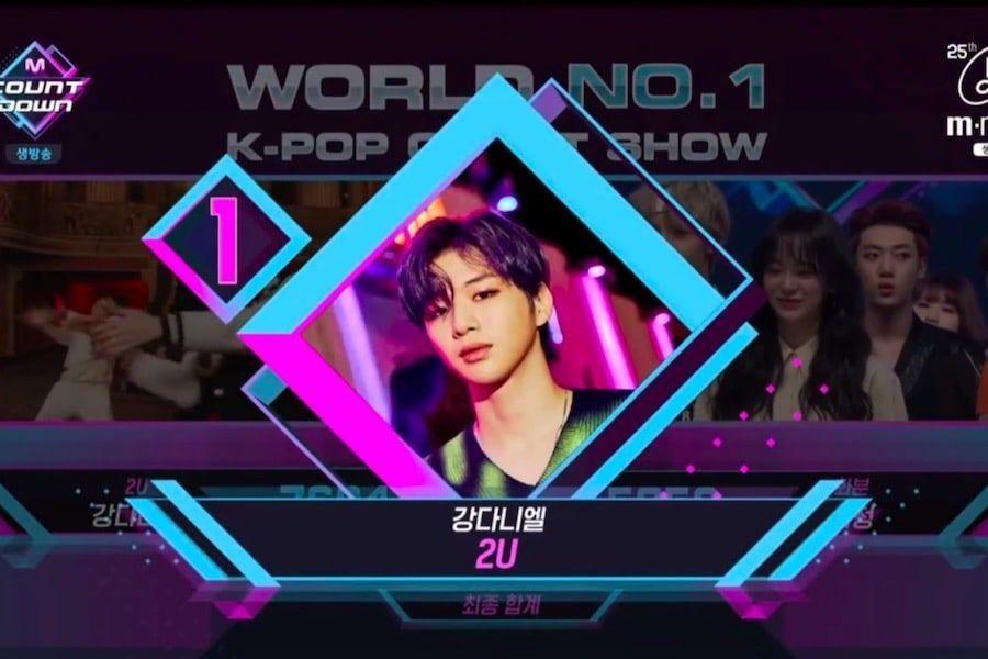 """Kang Daniel logra quinta victoria para """"2U"""" en """"M Countdown"""" – Presentaciones de (G)I-DLE, Kim Sejeong y más"""