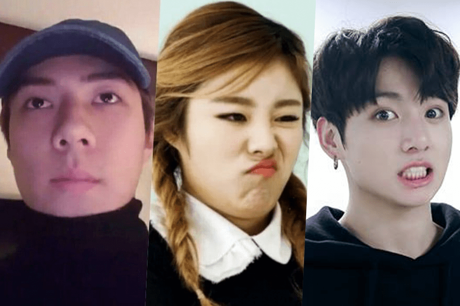 15 K Pop Idols Whose Facial Expressions Are Meme Gold Soompi