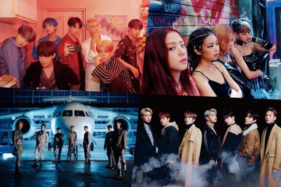 BTS, BLACKPINK, WayV, MONSTA X, And NCT 127 Rank High On Billboard's World Albums Chart