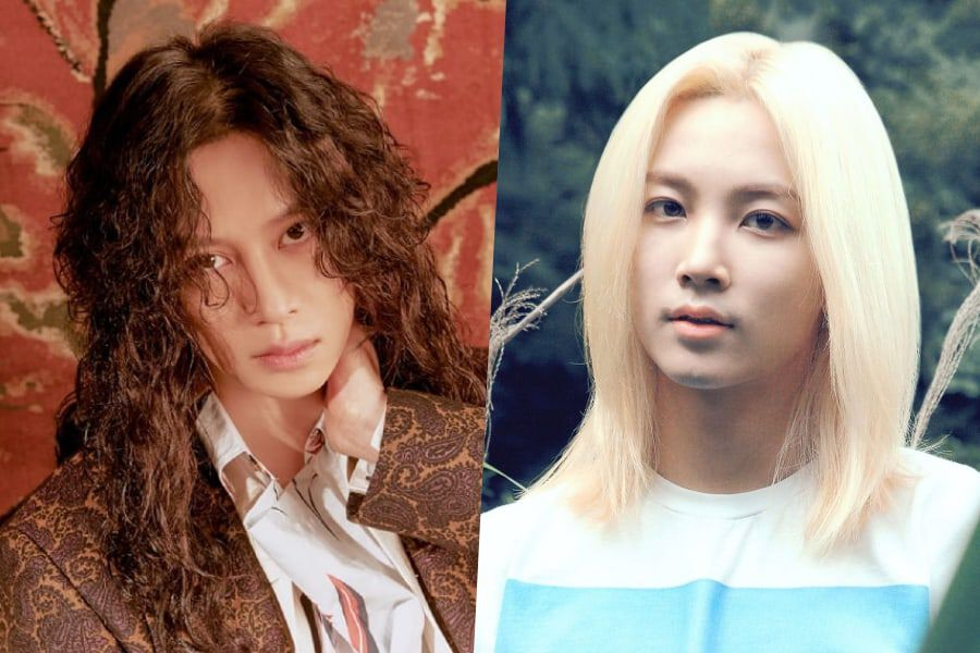 12 Times Male K-Pop Idols Stunned Us With Their Long Hairstyles