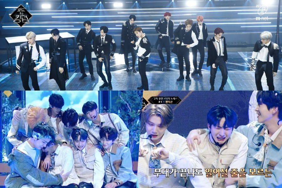 "Watch: ""Road To Kingdom"" Continues 1st Round And Announces Rankings + PENTAGON Tearfully Stages Last Performance Before Jinho's Enlistment"